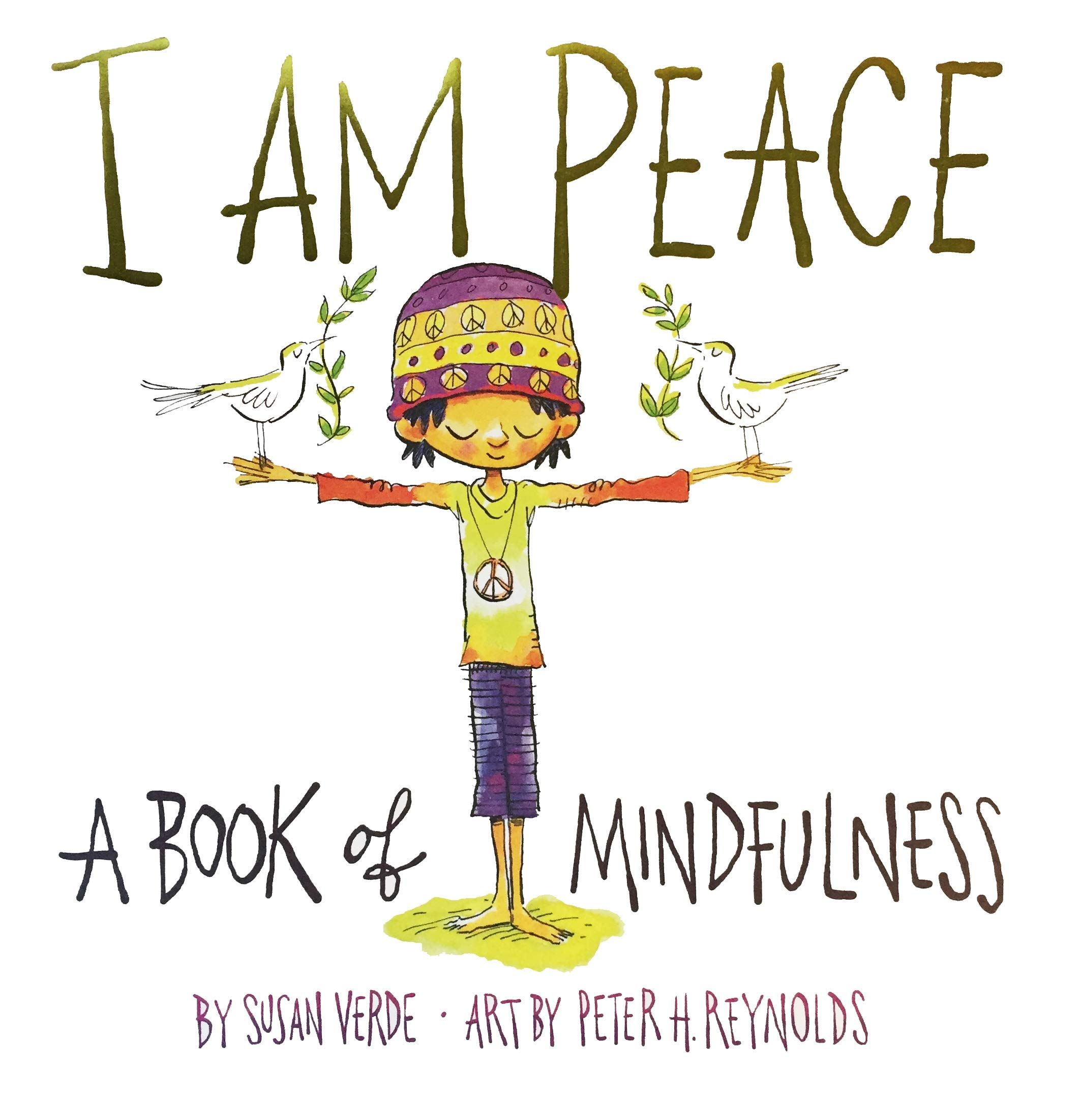I AM PEACE - A BOOK OF MINDFULNESS Kitap Kapağı