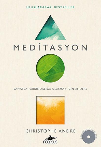 MEDITASYON - Sanatla Farkındalığa Ulaşmak için 25 Ders Kitap Kapağı